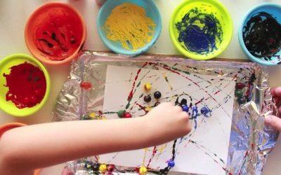 Pittura per bambini: Idee creative e tecniche fai-da-te